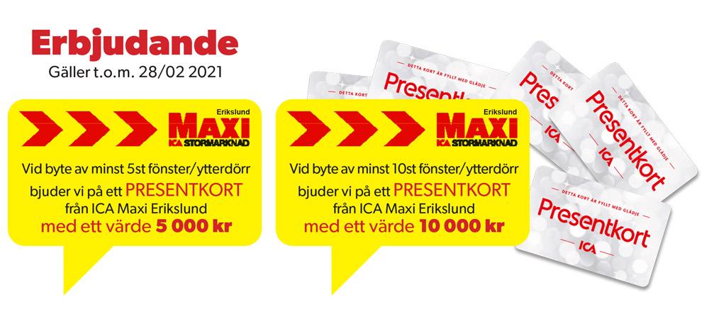 Erbjudande Gäller t.o.m. 28/02 2021
